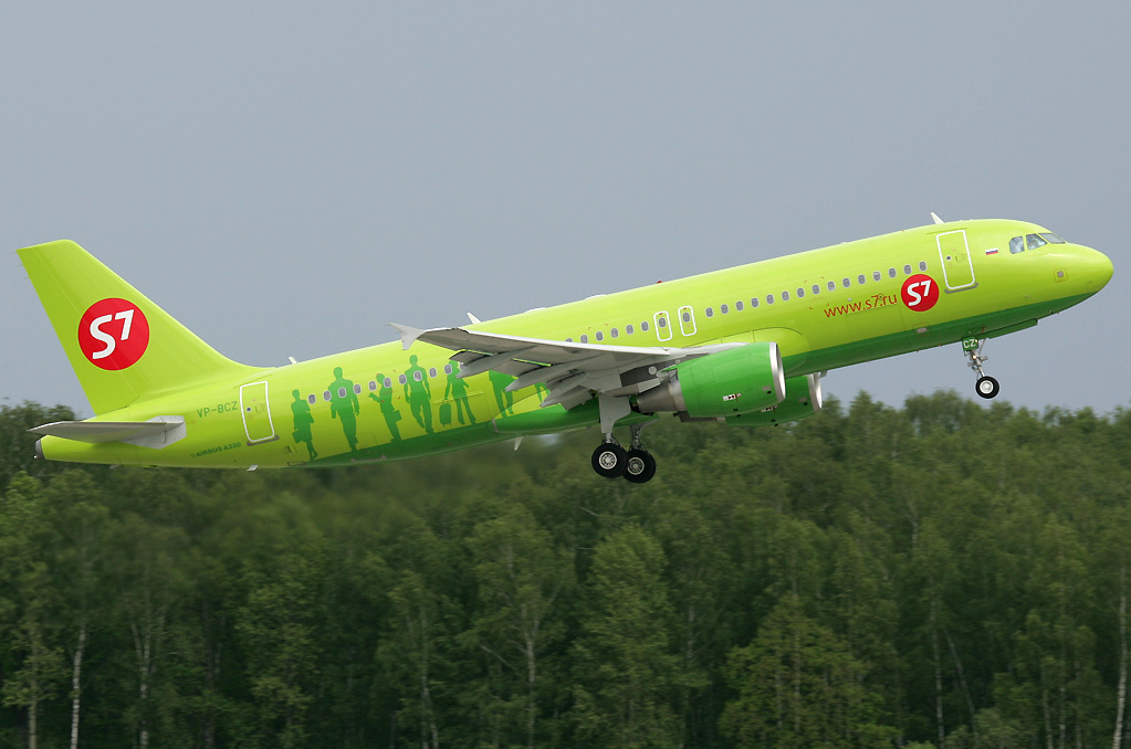 S7 Airlines Airbus A320